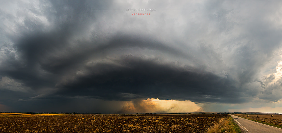 Photograph Supercell by Enrico Montanari on 500px