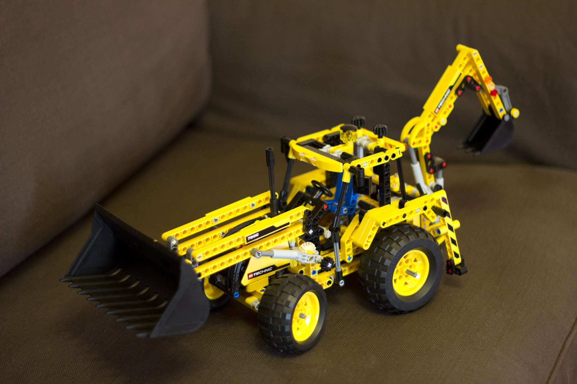Photograph LEGO Technic (8069) Backhoe Loader by Evgeny Sterkhov on 500px
