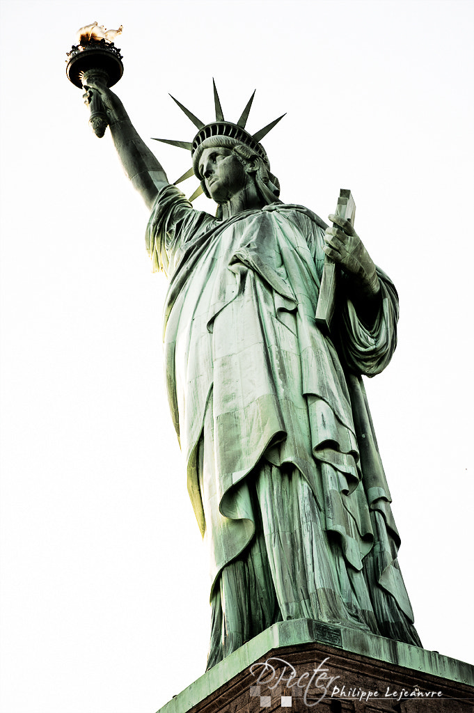 Photograph Statue of Liberty by Philippe Lejeanvre on 500px