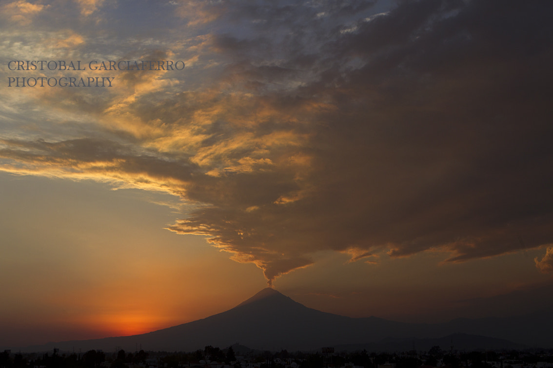 Photograph Popocatepetl  and sunshine by Cristobal Garciaferro Rubio on 500px