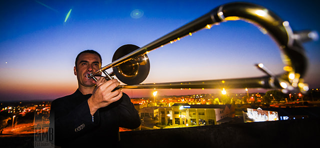 Photograph Musician @ sunset by MMB Fotografía Adolfo Gris on 500px