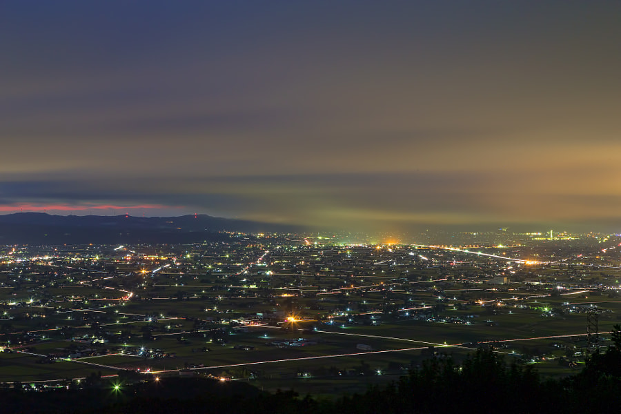 """This place is Tonami plain in Toyama pref. Japan.  You can see my other photographs in <a href=""""https://www.facebook.com/miyamoto824"""">my Facebook page.</a>"""