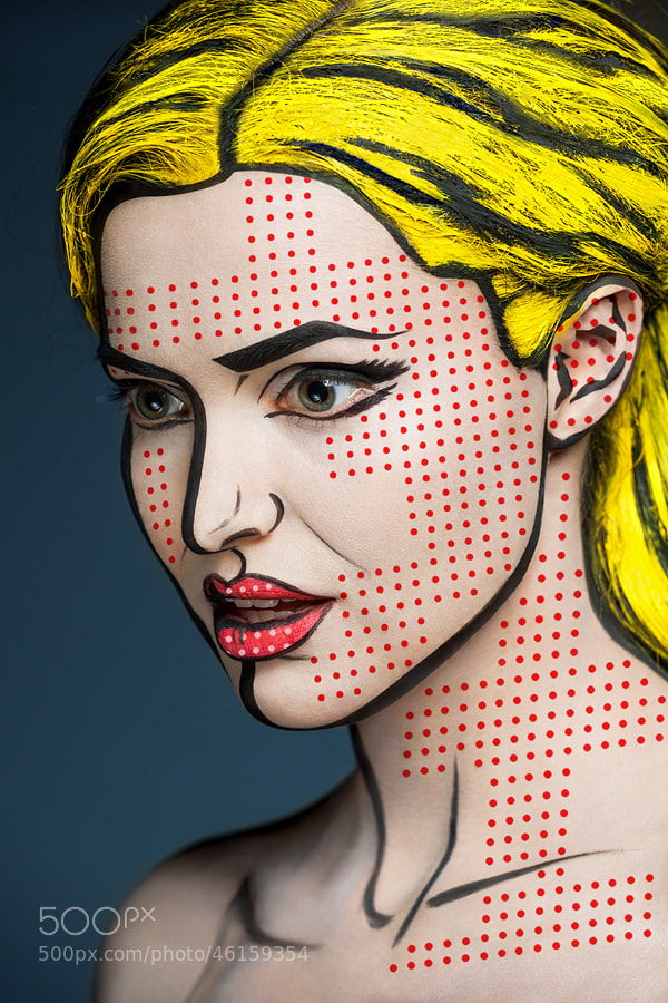 Photograph Comix face by Alexander Khokhlov on 500px