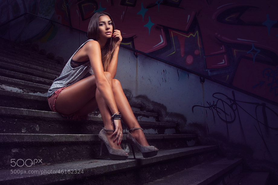 Photograph Giannina by Calvin Hollywood on 500px