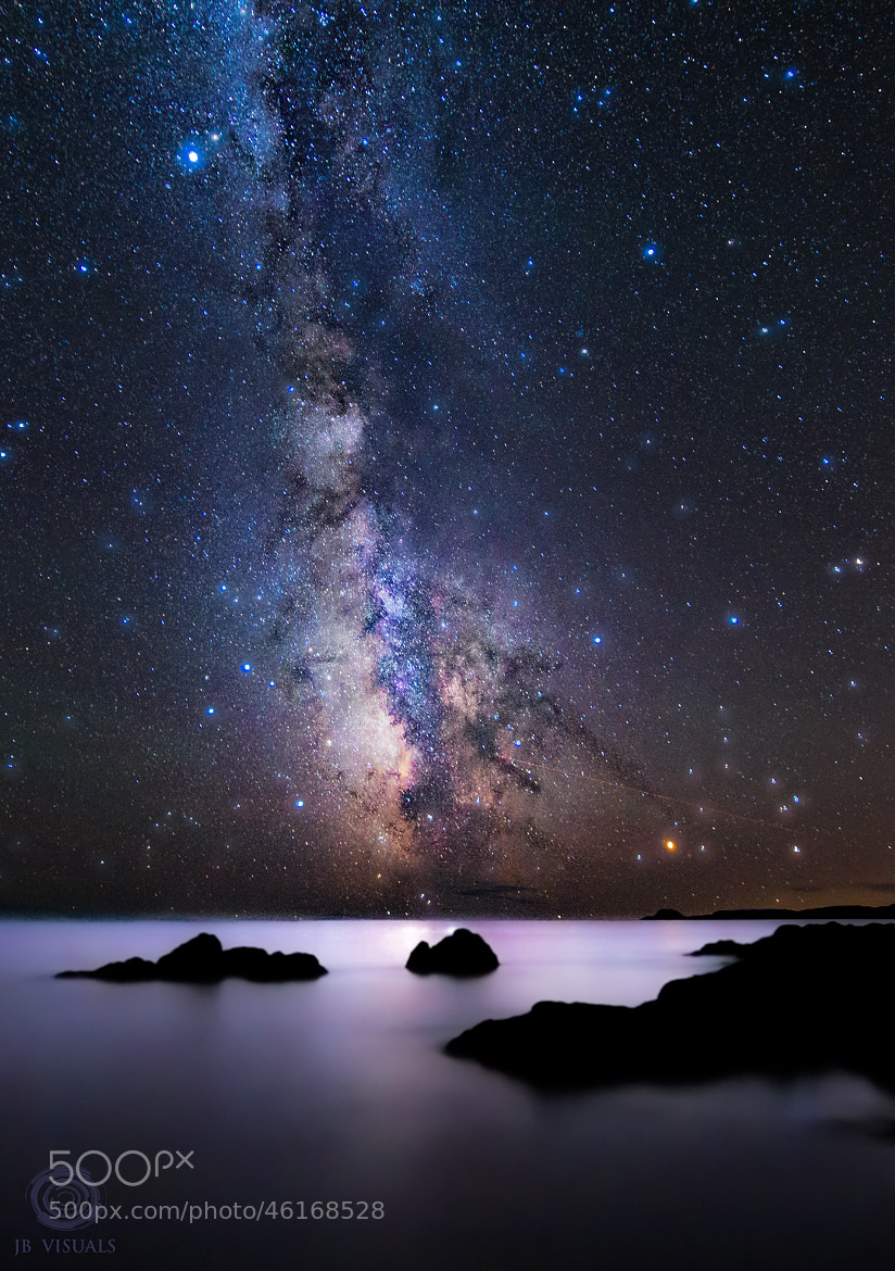 Photograph Milky way explosion by Jared Blash on 500px