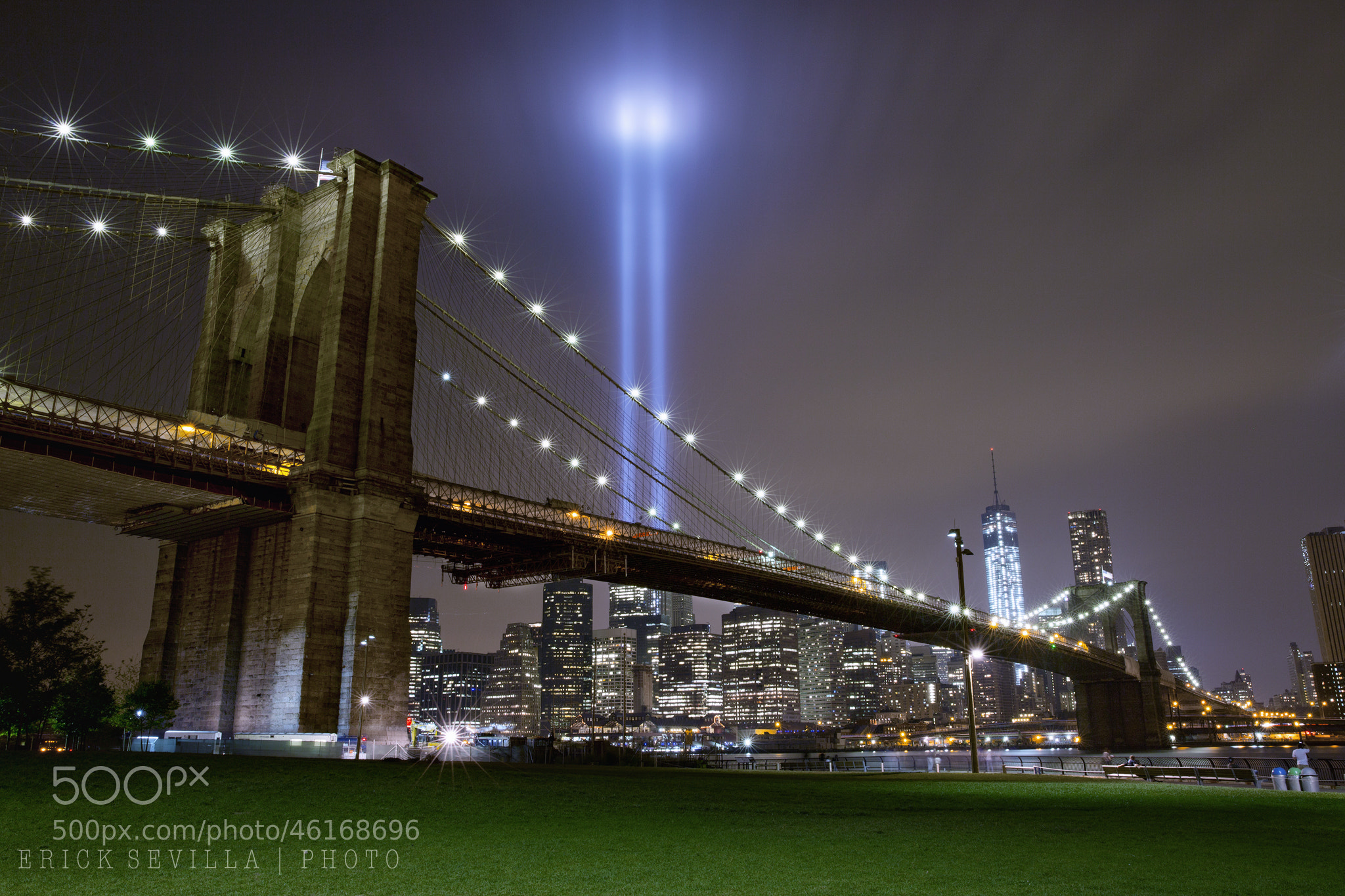 Photograph Tribute in Light - 9/11 Memorial by Erick Sevilla on 500px