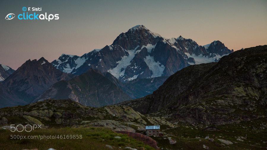 Photograph Avvolgente aurora (Valle della Thuile, Valle d'Aosta) by Francesco Sisti on 500px