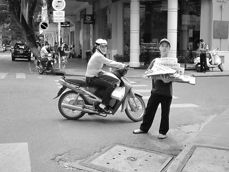 Photograph Paper boy. by Marie Peters on 500px