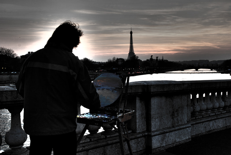 Photograph sunset over Paris by Andrei Schendra on 500px