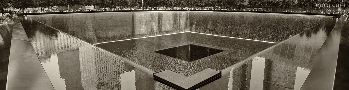Photograph South Tower Memorial Pool - Ground Zero by Gary Cain on 500px