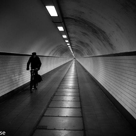 st-anna tunnel, Antwerpen