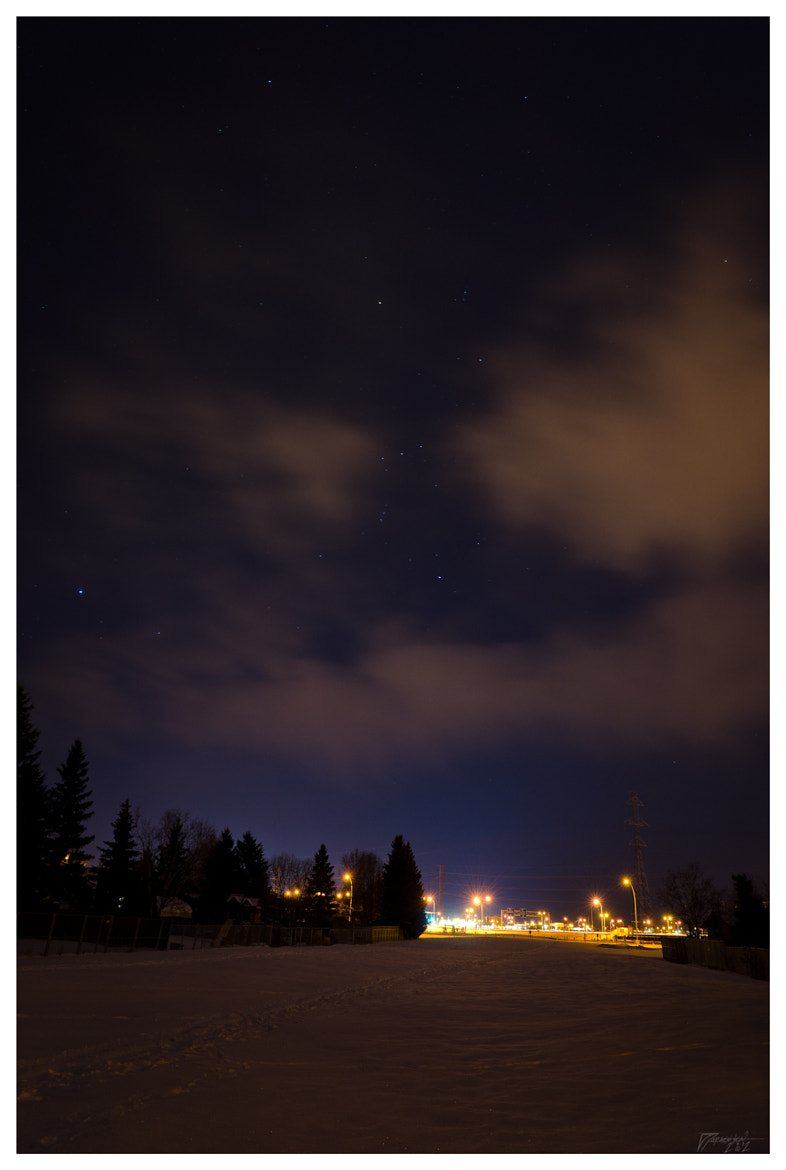 Photograph Orion over the freeway by Denby Jorgensen on 500px