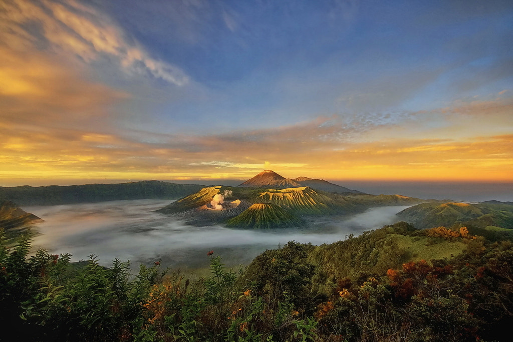 Photograph Volcano in the Morning by Hari Wiyadi on 500px