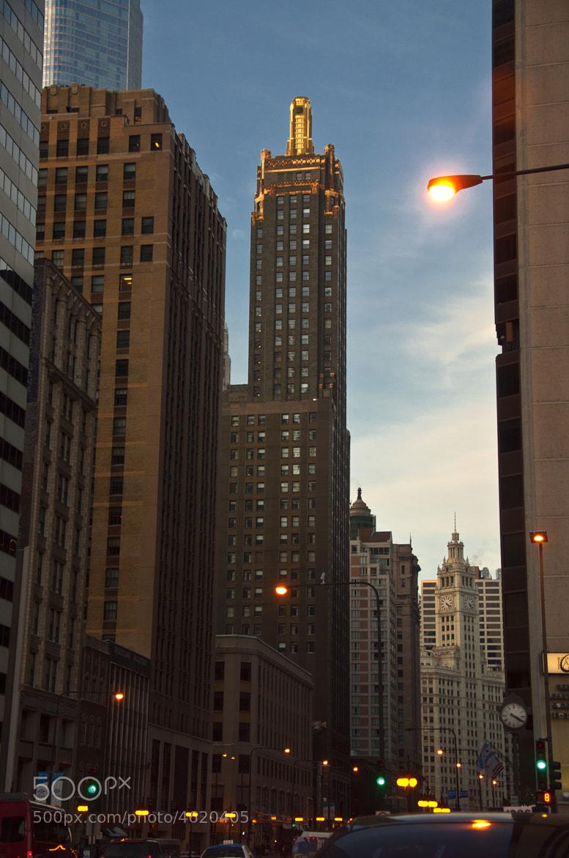 Photograph Michigan Ave Before Sunset by Stanislav Keselman on 500px