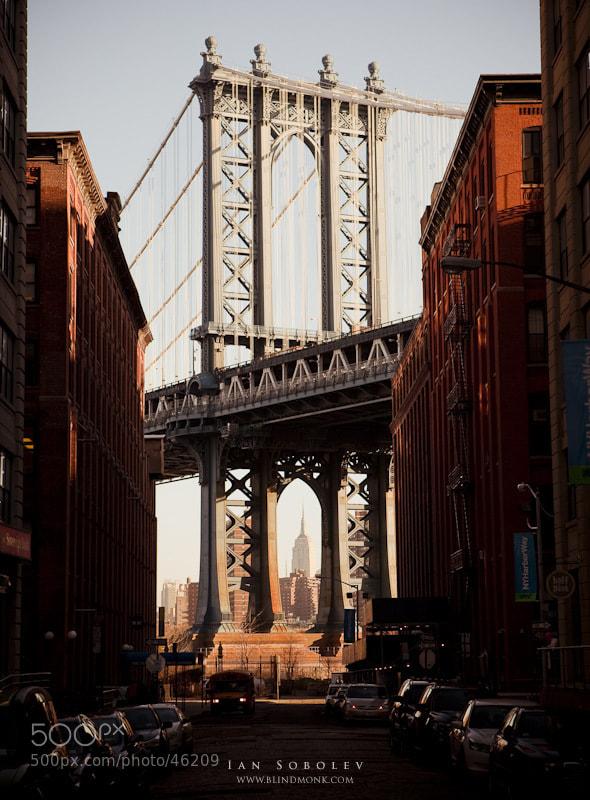 Photograph Manhattan Bridge by Evgeny Tchebotarev on 500px