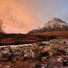 Buachaille etive mor just after sun up. Bit of a done to death place but if you're in the area...........