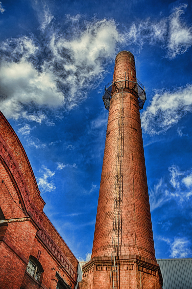 Photograph Avery Dennison Smoke Stack by John Hoey on 500px