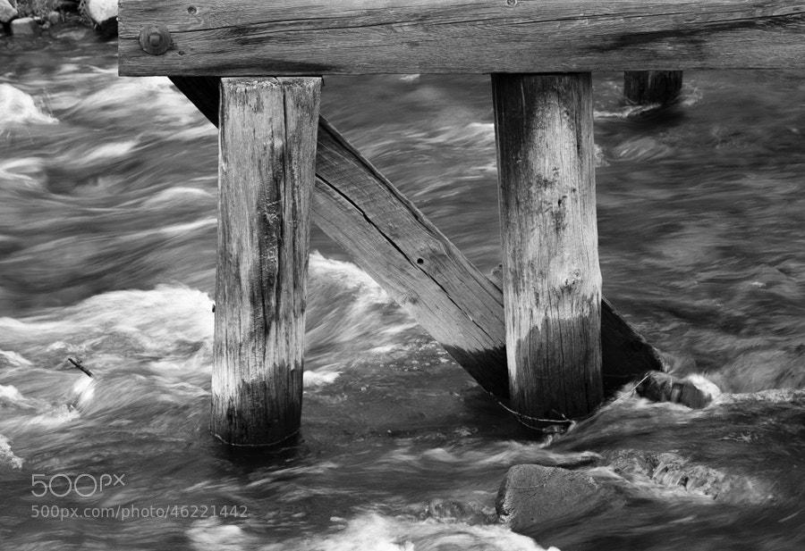 Photograph Rapids Under the Pier, Breckenridge, Colorado by Stanton Champion on 500px