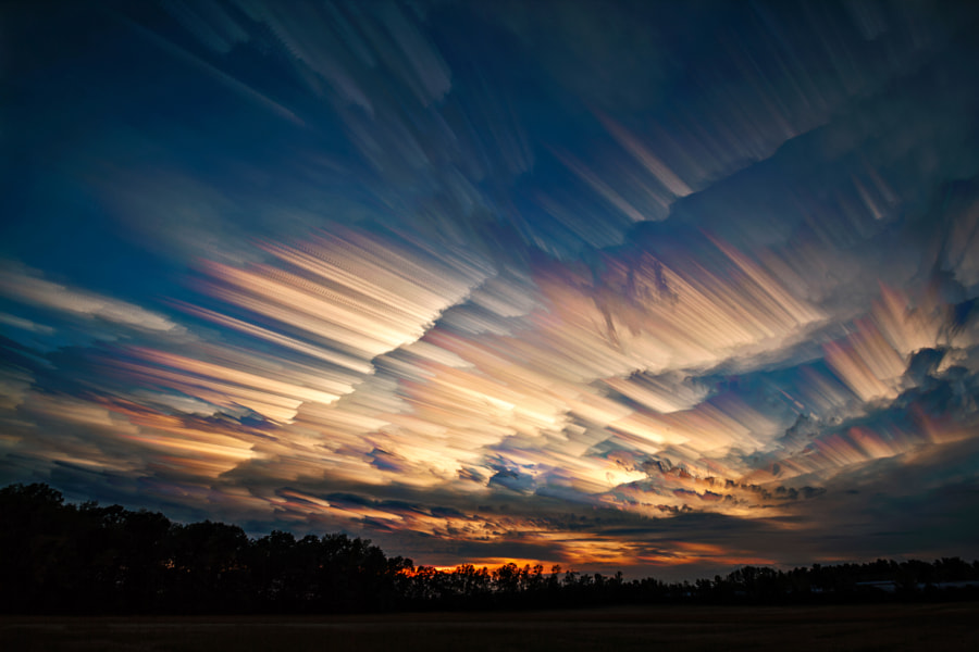 Photograph Contrails vs Cloud Trails by Matt Molloy on 500px