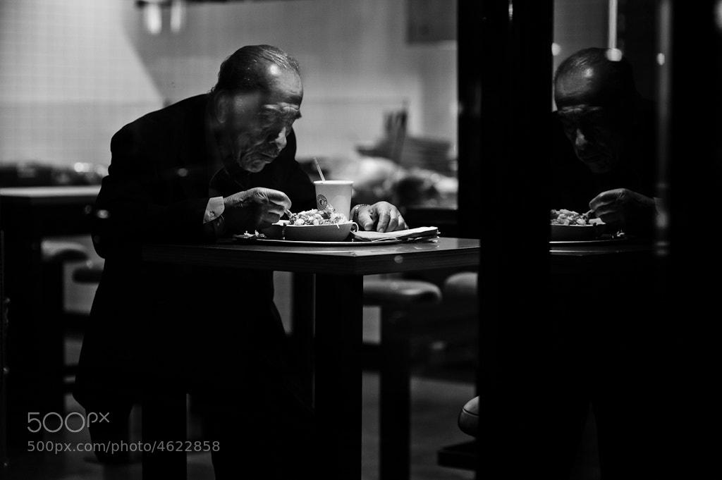 Photograph Dinner for One by Rinzi Ruiz on 500px