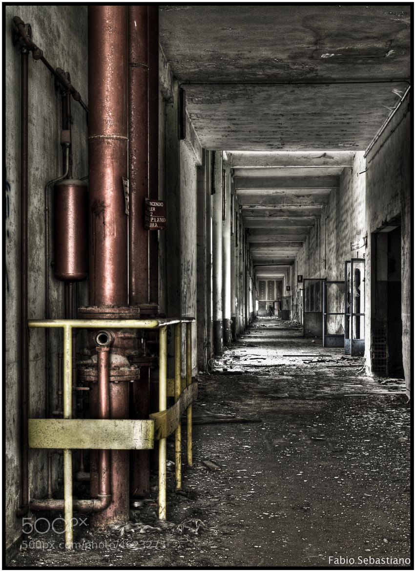 Photograph Red Pipes by Fabio Simone Sebastiano on 500px
