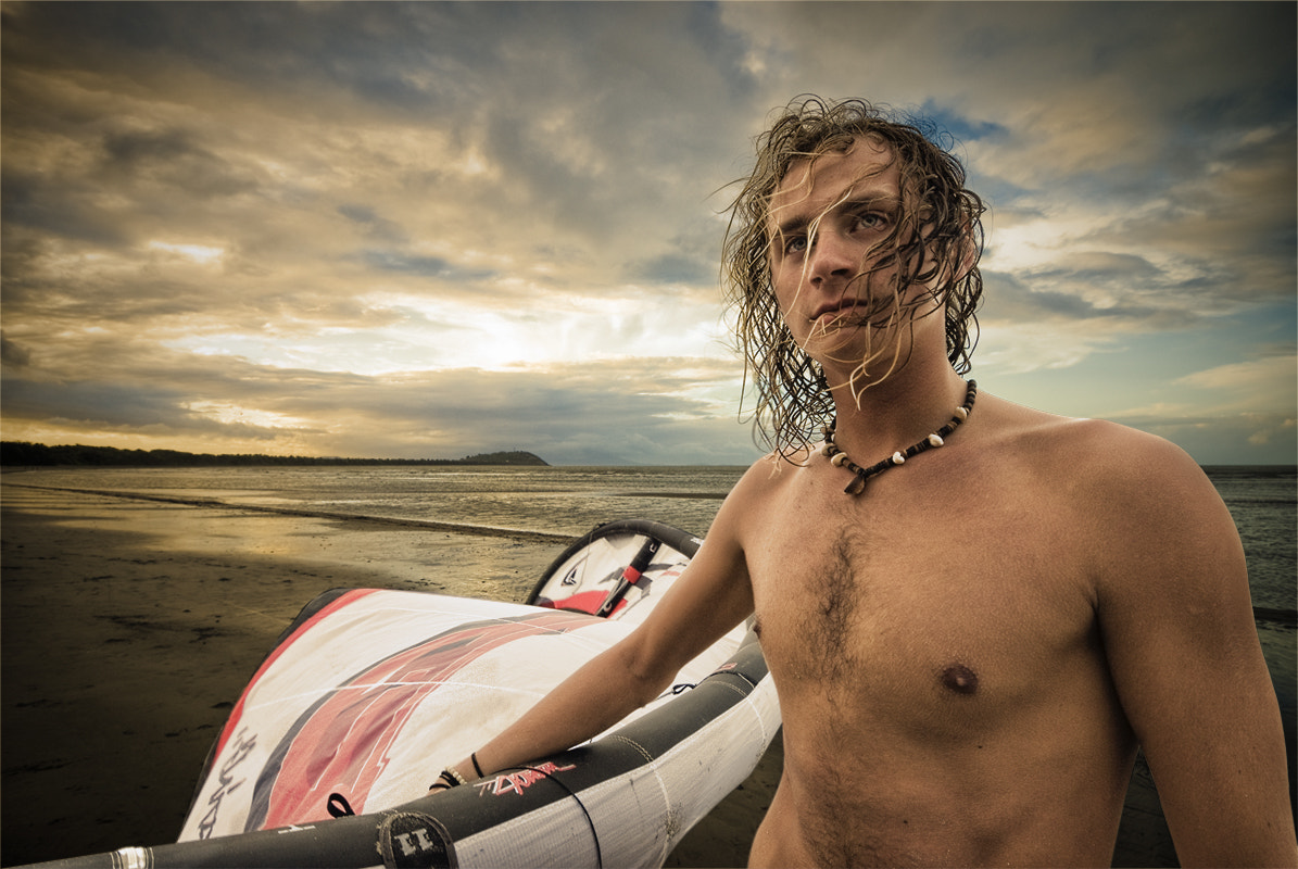 Photograph Kite Surfer by Neil Harsant on 500px