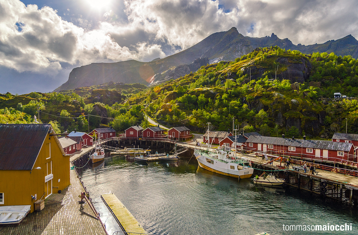 Photograph Nusfjord by Tommaso Maiocchi on 500px