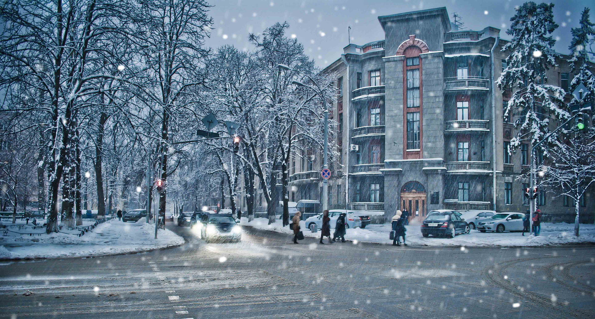 Photograph Winter in the Kiev by Inna Petrova on 500px