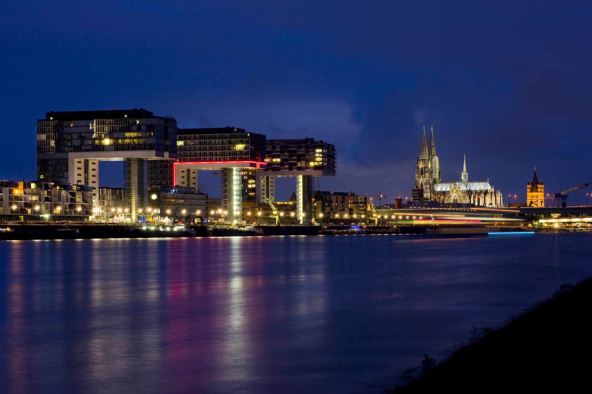 Photograph cologne at night by Frank Heinen on 500px