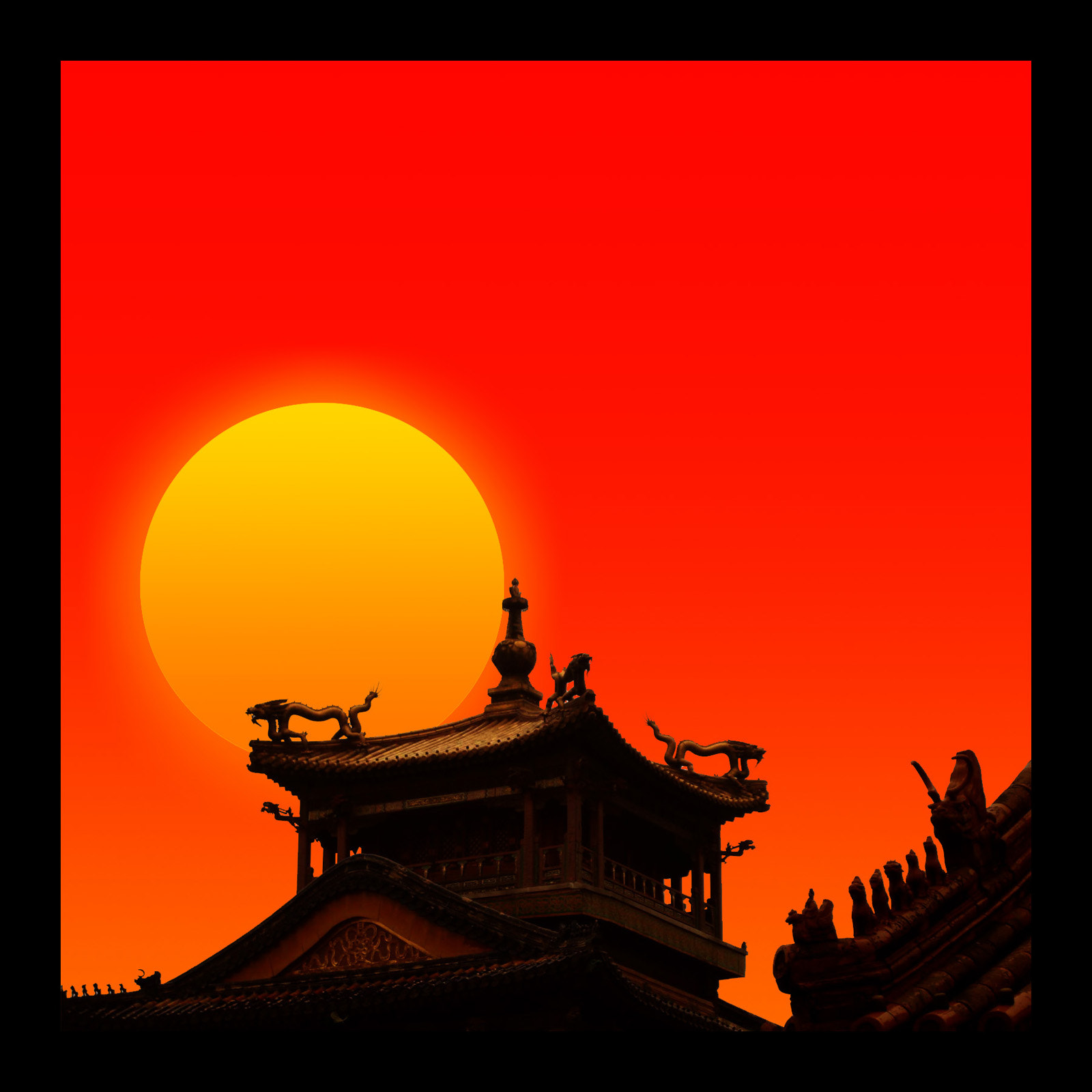 Photograph SUNSET AT CHINA by Maroof Rana on 500px