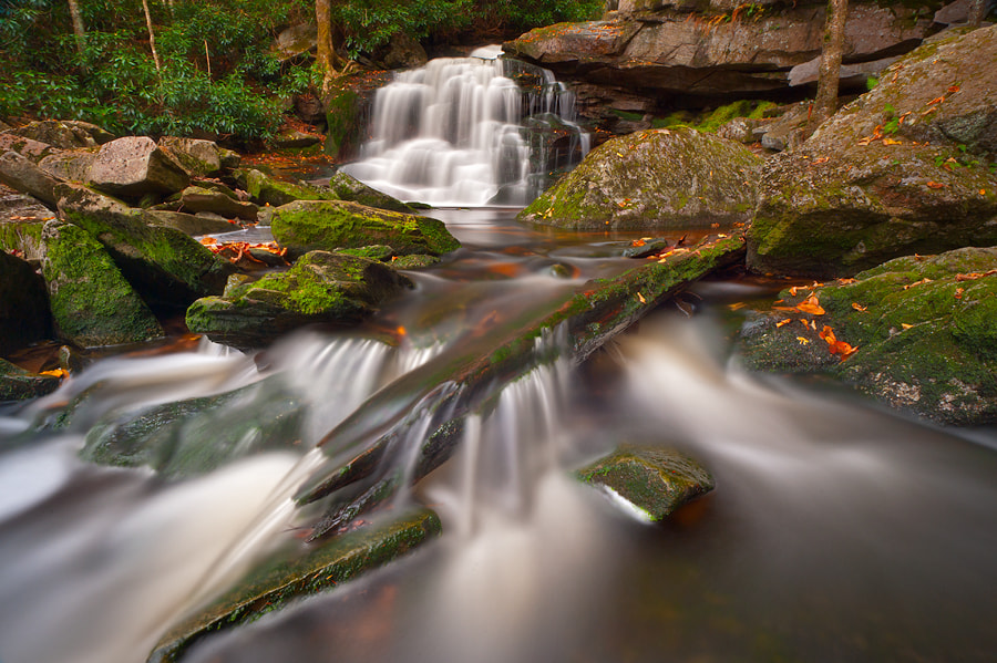 Photograph Second Falls of Shays Run by Joseph Rossbach on 500px
