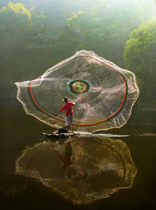 Photograph Net and Reflection by Agah  Permadi on 500px