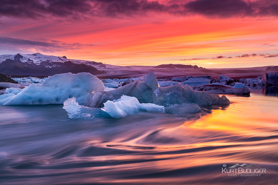 Photograph Fire and Ice by Kurt Budliger on 500px