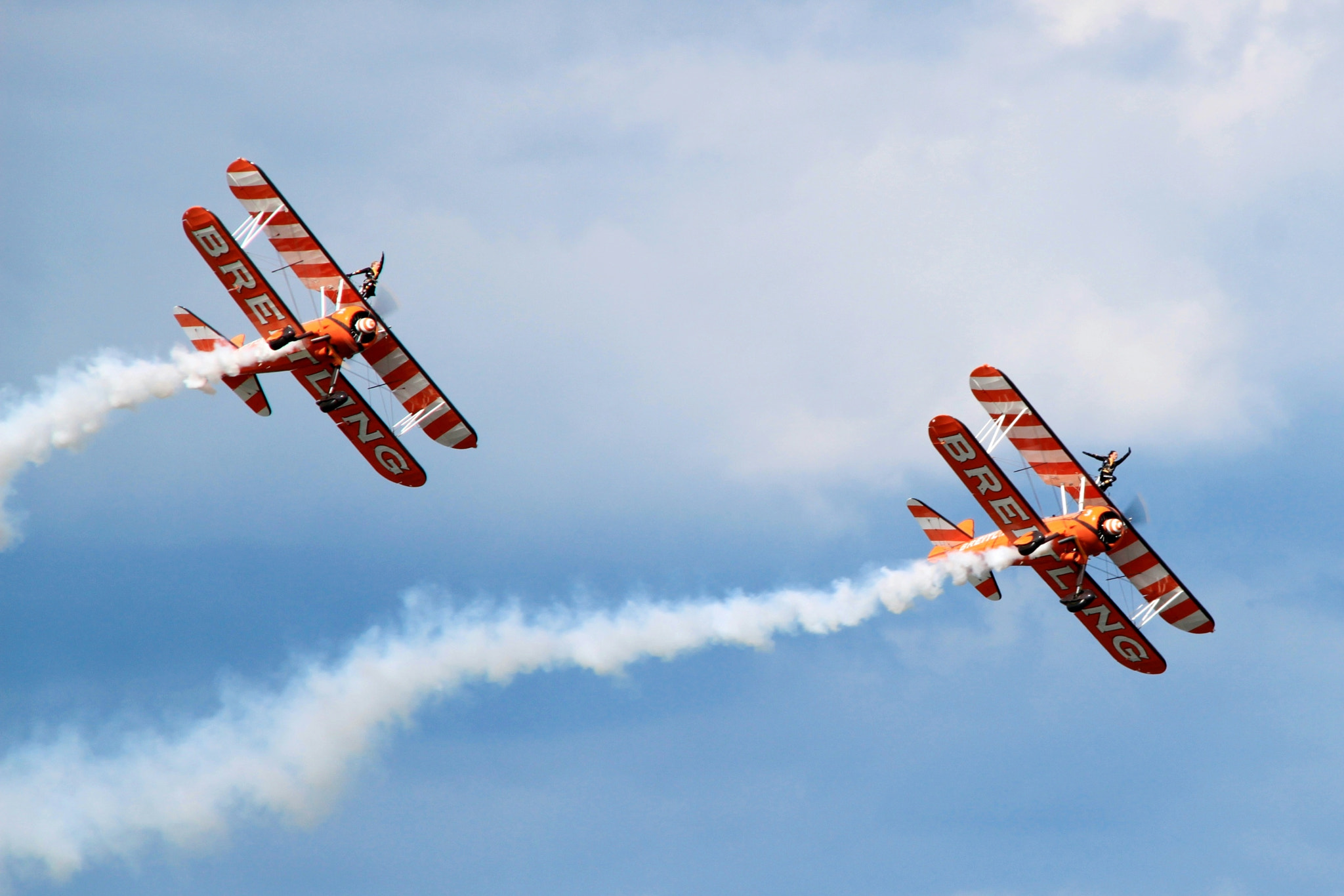 Photograph Bretling Wingwalkers by Karthik Gellia on 500px