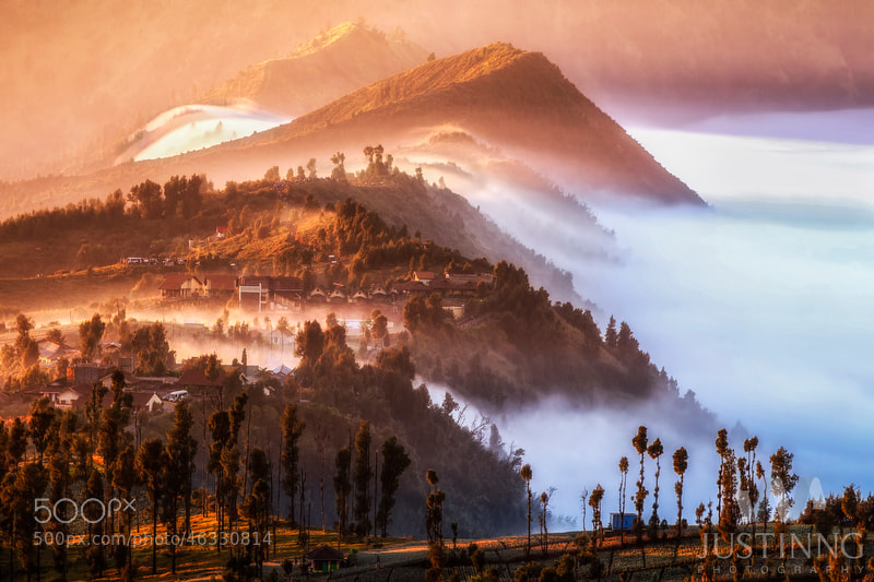 Photograph Village above clouds by Justin Ng on 500px