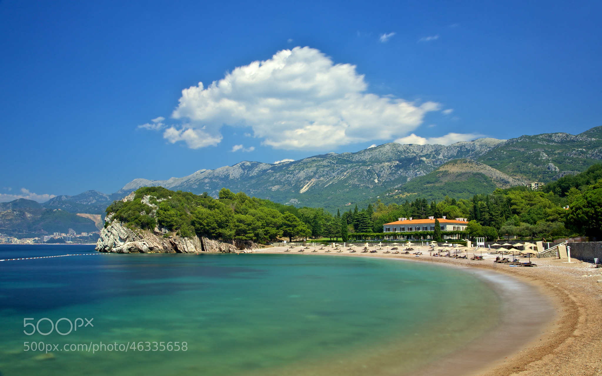 Photograph Milocer, Montenegro by Europe Trotter on 500px