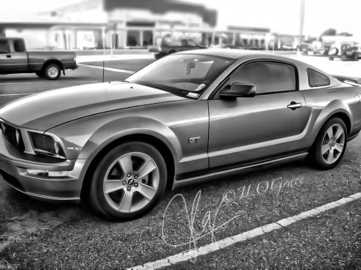 Photograph 2007 Ford Mustang GT by Janis Grace on 500px