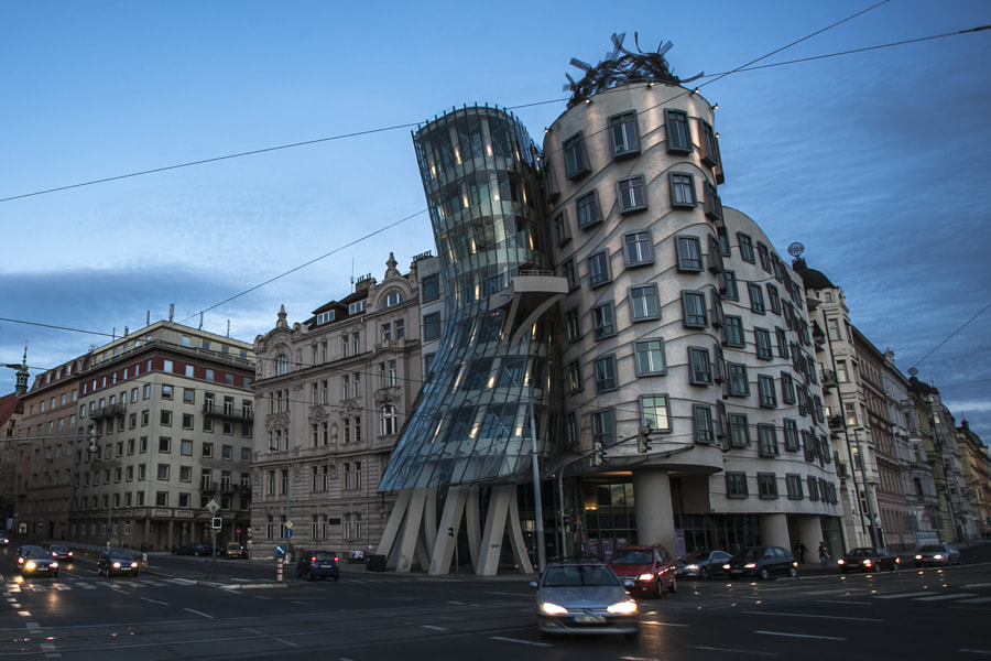 The Dancing House of Prague. by sk teh on 500px.com
