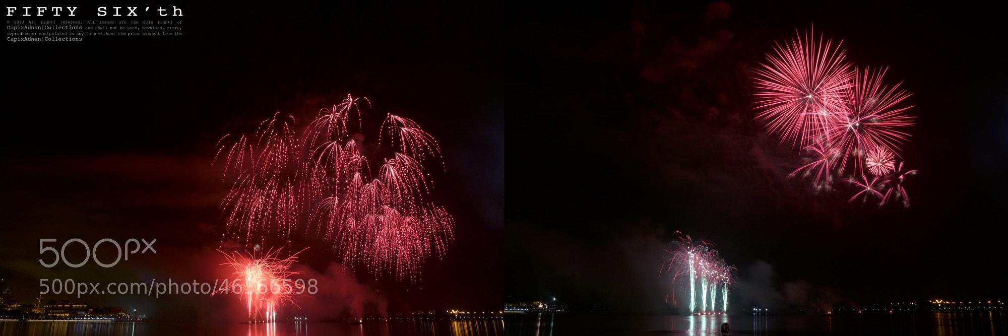 Photograph Putrajaya Firework Competition 2013 by Syafiq Adnan on 500px