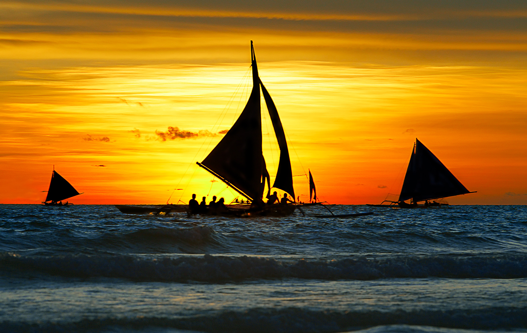 Photograph Sunset sails by Yury Barsukoff on 500px