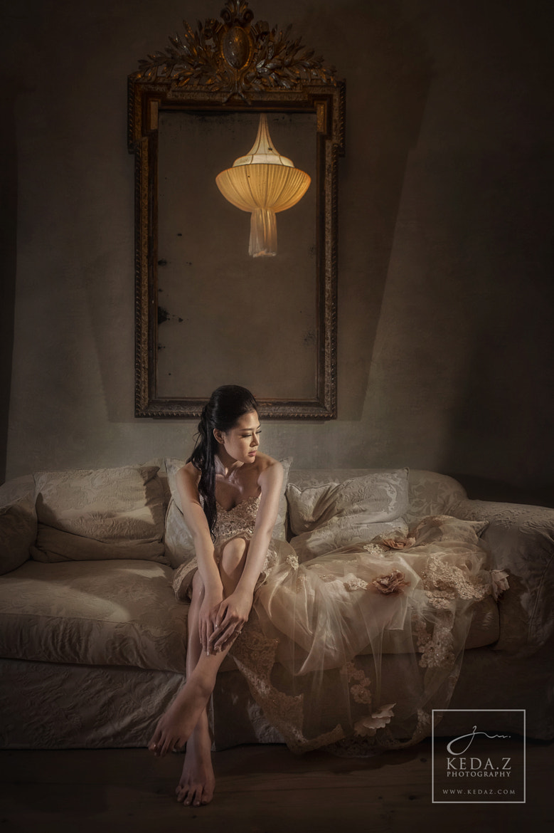 Photograph Bride alone by Keda.Z Feng on 500px