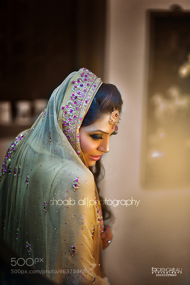 Photograph The Wedding Bride by shoaib ali on 500px