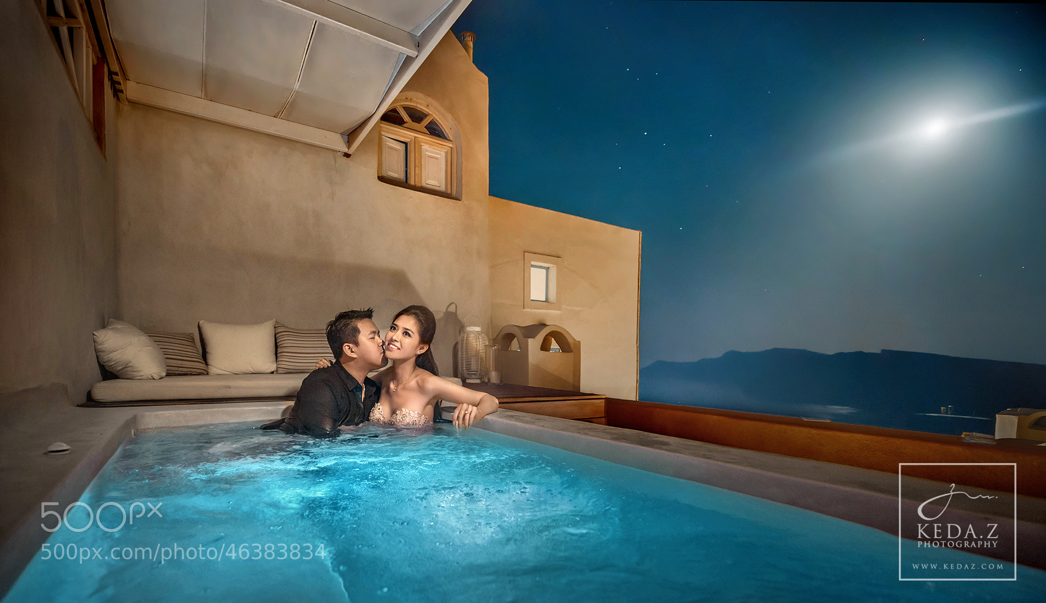 Photograph Romance of Santorini by Keda.Z Feng on 500px