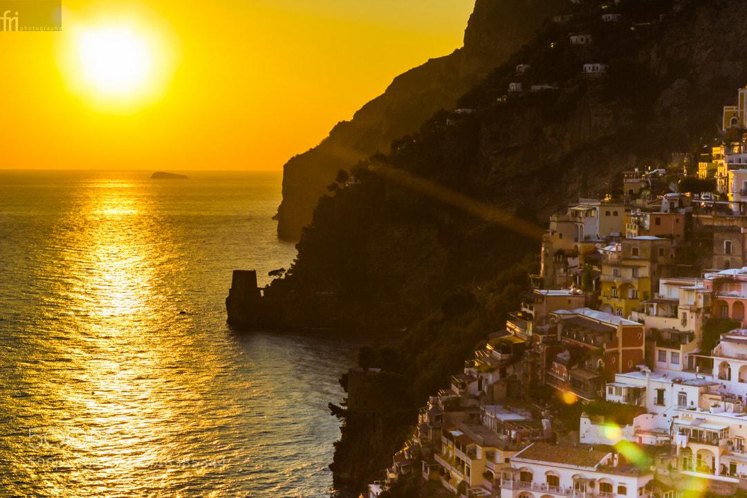 Photograph Positano into the sun by Francesco Riccardo Iacomino on 500px