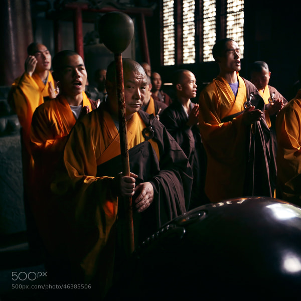 Shaolin monk by Mark Podrabinek on 500px.com