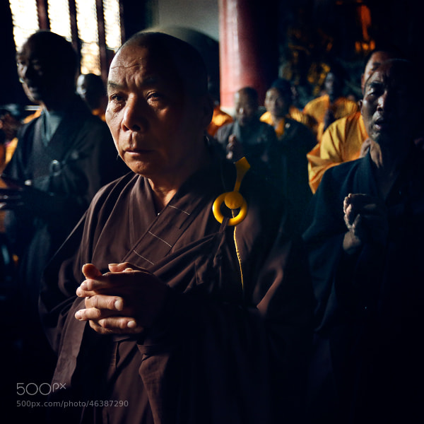 Shaolin monk#2 by Mark Podrabinek on 500px.com