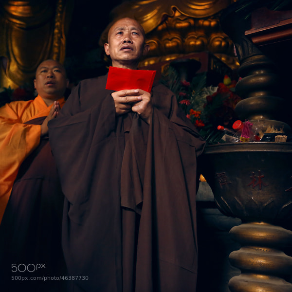 Shaolin monk#3 by Mark Podrabinek on 500px.com