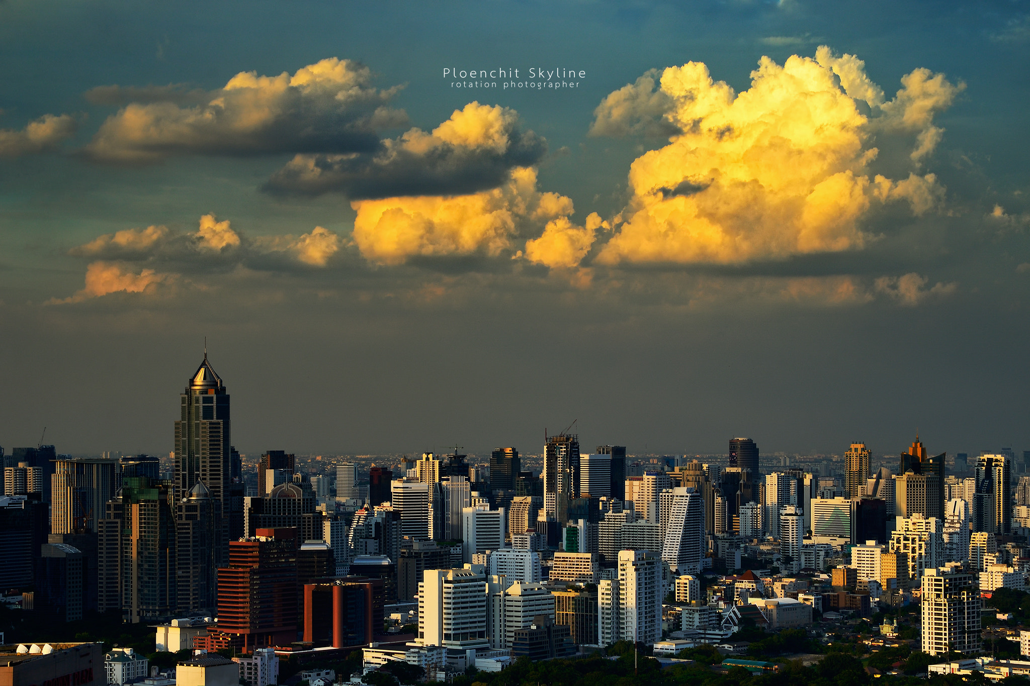 Photograph Ploenchit Skyline by Jirawas Teekayu on 500px