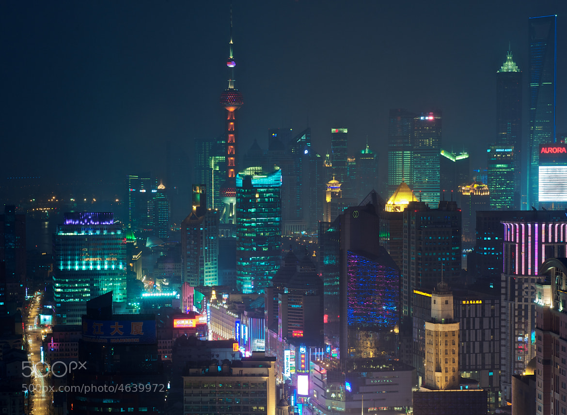 Photograph Blue Shanghai by Ryan Pendleton on 500px