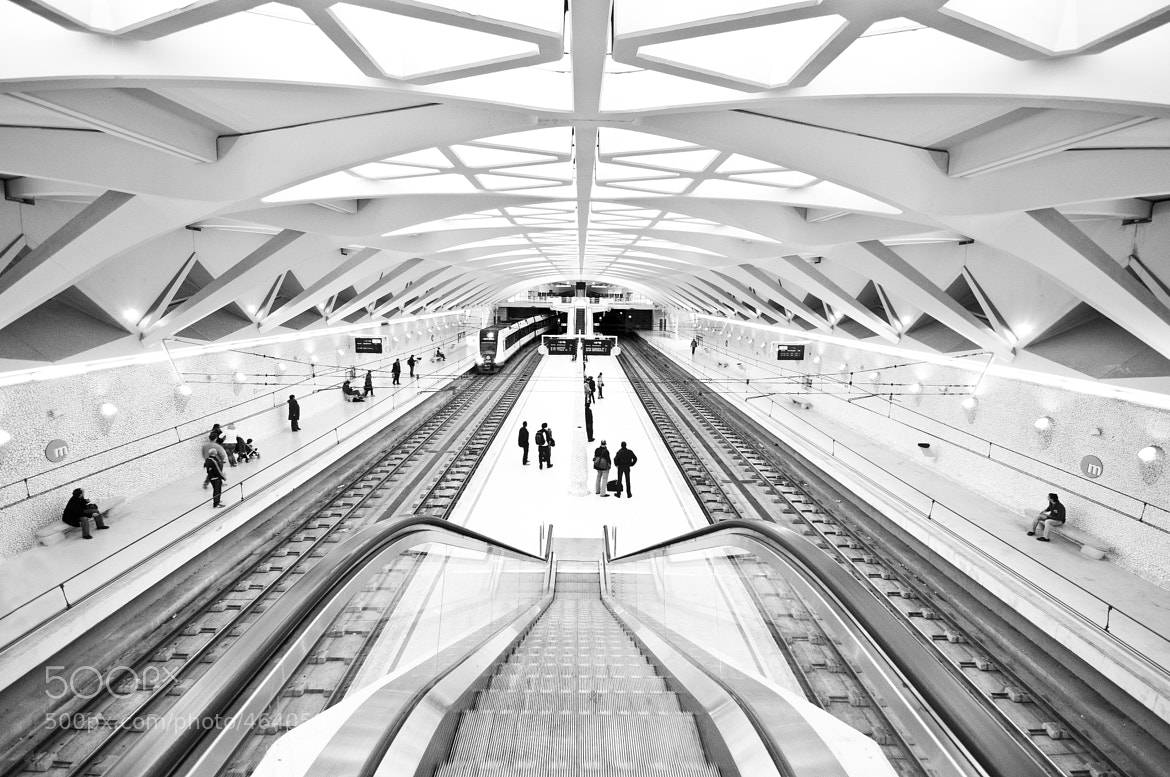 Photograph metro valencia by Jonatan Martin on 500px